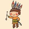 Melagioco Festa per bambini - Indiani