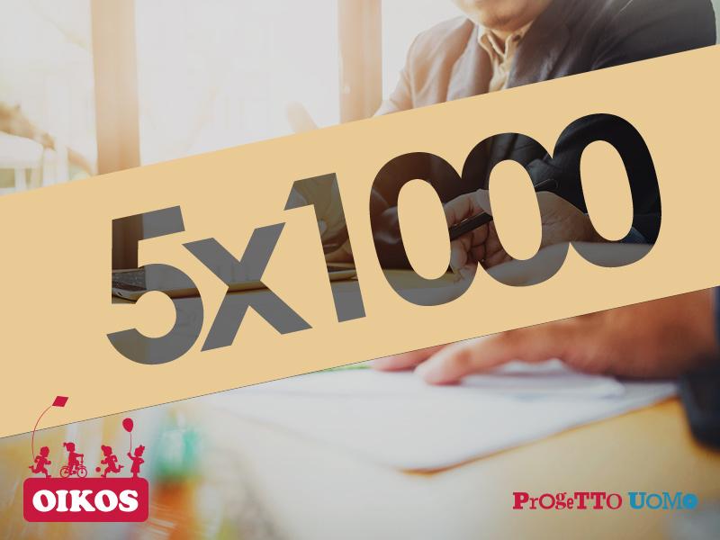 5x1000 - Comunità Oikos